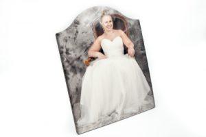 Cadre photo personnalisable avec support 20×25,5cm