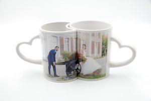 Mug couple personnalisable avec photo