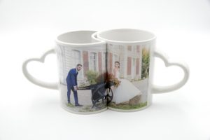 Mug couple personnalisable avec photo