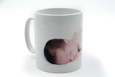 Mug personnalisé blanc avec photo