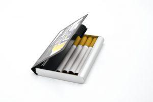 Boite à cigarettes personnalisé