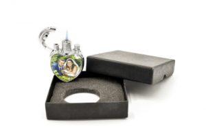 Briquet à gaz personnalisé avec photo