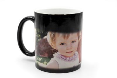 Mug magique gravé love avec photo