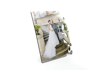 Cadre photo personnalisable avec photo 15×17cm love